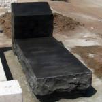 מצבת אבן בזלת